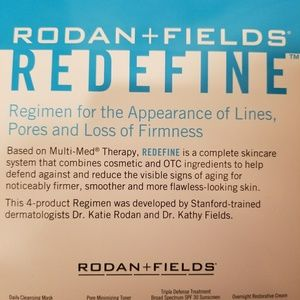 Rodan and Fields Redefine Regimen